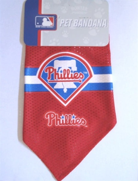 Philadelphia Phillies Mesh Dog Bandana - staygoldendoodle.com
