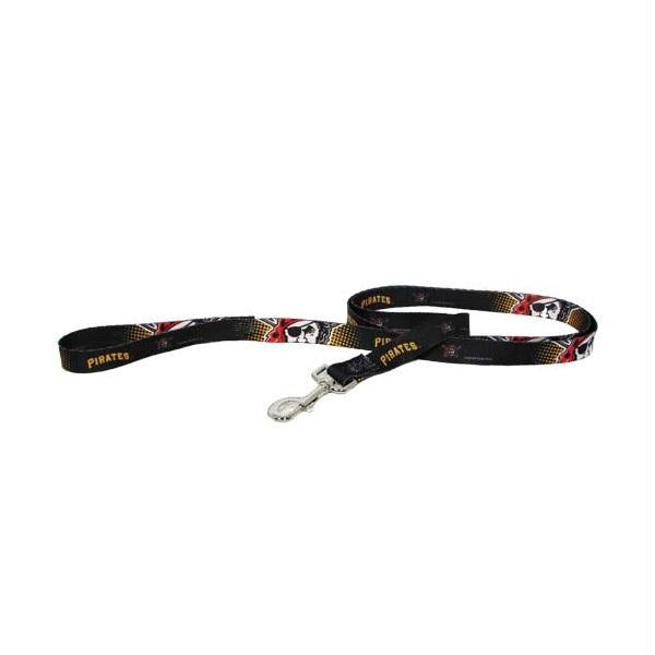 Pittsburgh Pirates Black Pet Leash - staygoldendoodle.com