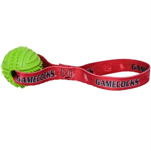 South Carolina Gamecocks Rubber Ball Toss Toy - staygoldendoodle.com
