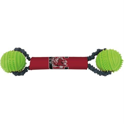 South Carolina Double Bungee Tug-N-Toss Toy - staygoldendoodle.com