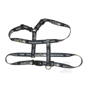 Seattle Seahawks Pet Harness - staygoldendoodle.com
