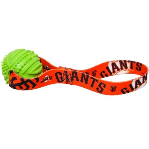 San Francisco Giants Rubber Ball Toss Toy - staygoldendoodle.com