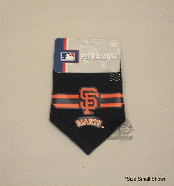 San Francisco Giants Mesh Dog Bandana - staygoldendoodle.com