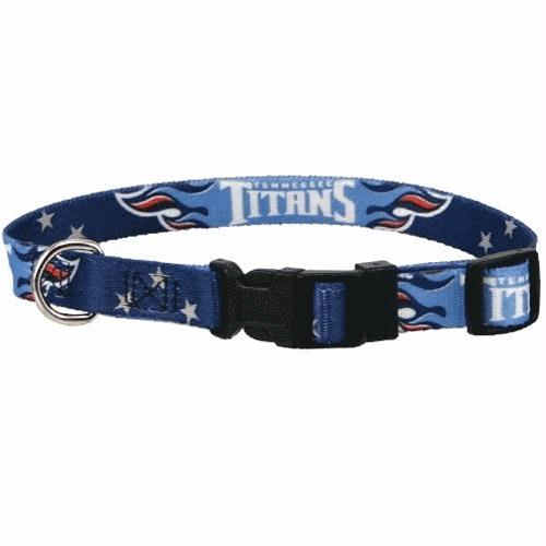 Tennessee Titans Dog Collar - staygoldendoodle.com