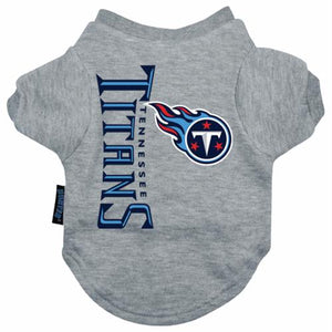 Tennessee Titans Dog Tee Shirt - staygoldendoodle.com