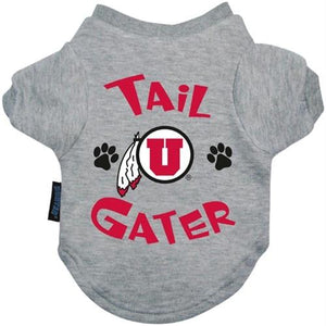 Utah Utes Tail Gater Tee Shirt - staygoldendoodle.com