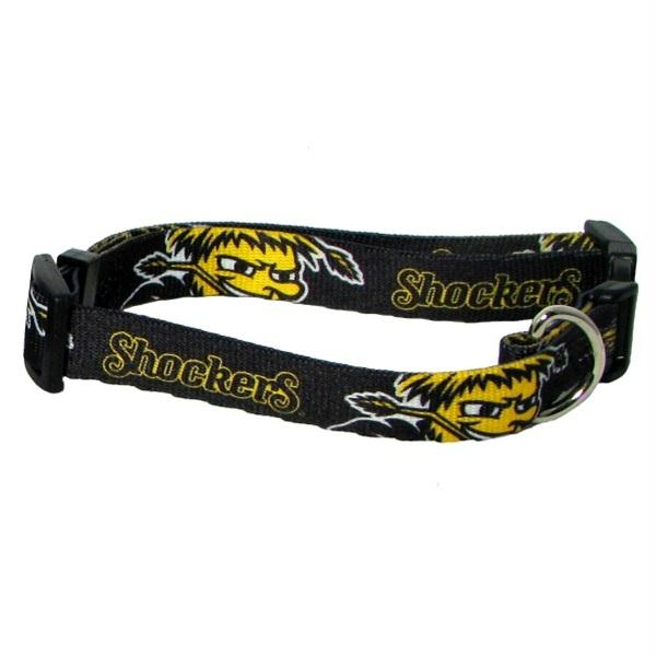 Wichita State Shockers Pet Collar - staygoldendoodle.com