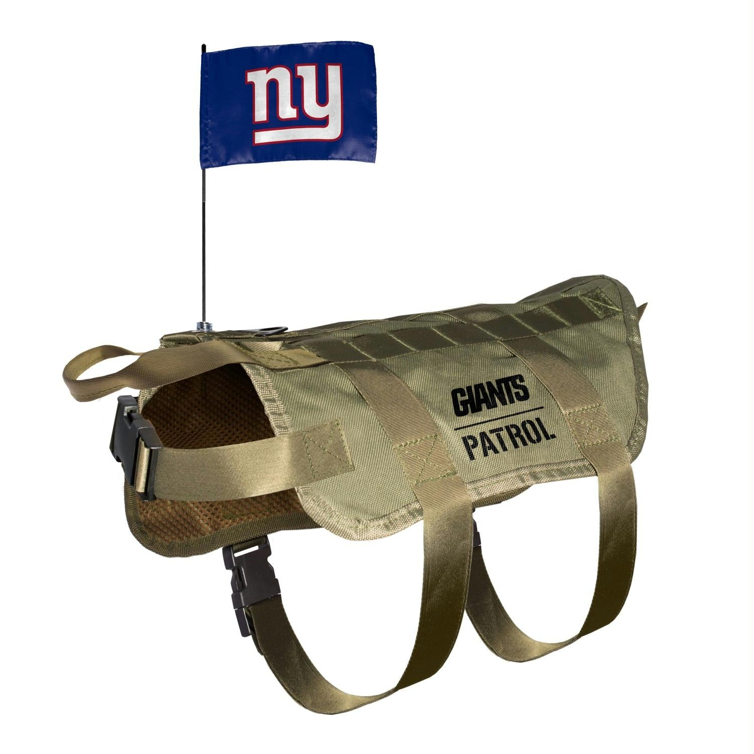 New York Giants Pet Tactical Vest - staygoldendoodle.com