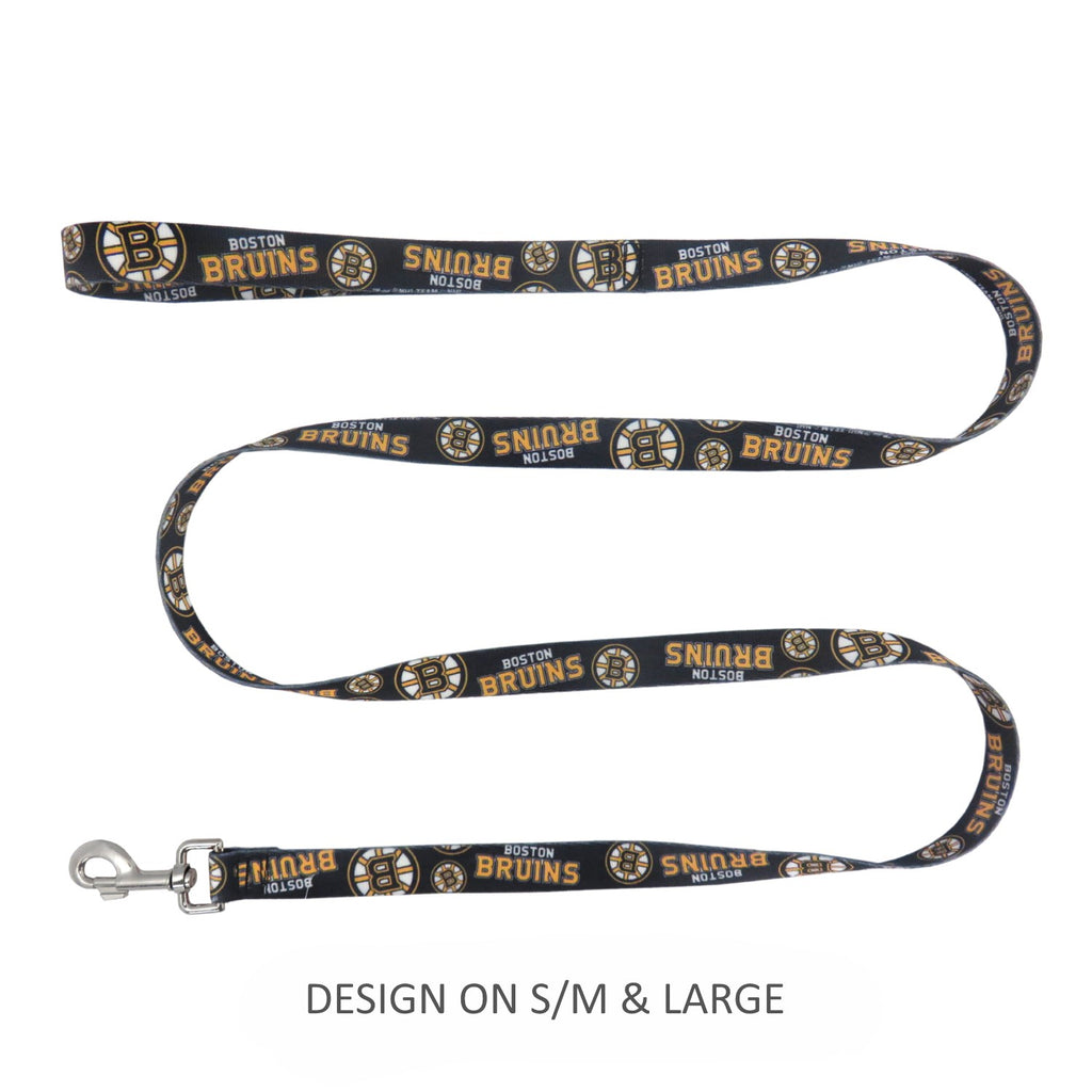 Boston Bruins Pet Nylon Leash - S/M
