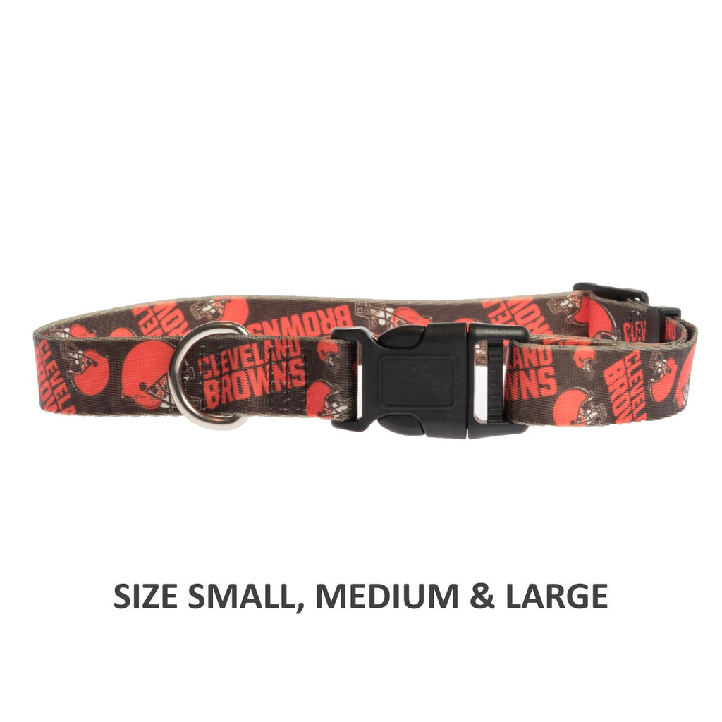 Cleveland Browns Pet Nylon Collar - Small