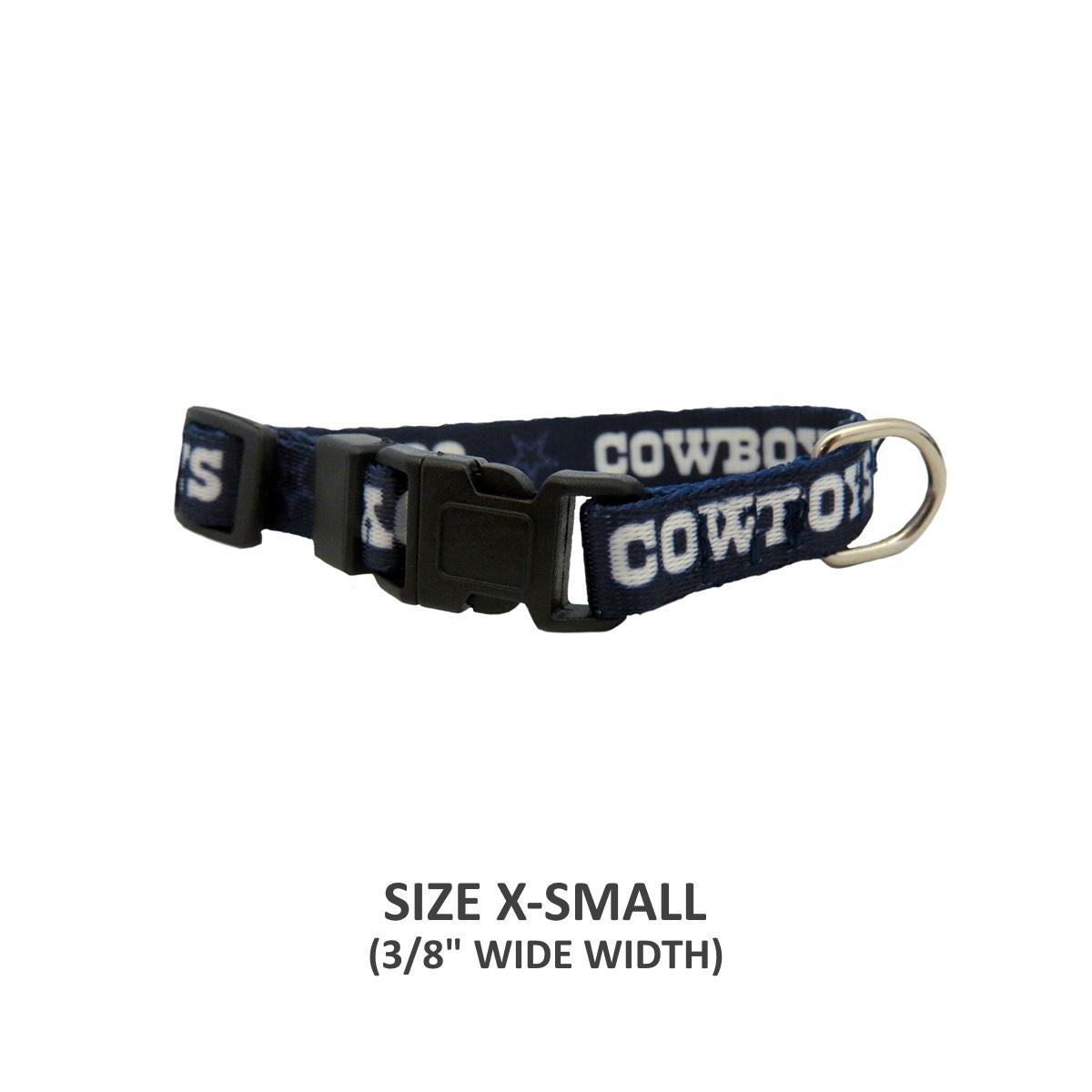 Dallas Cowboys Pet Nylon Collar - staygoldendoodle.com