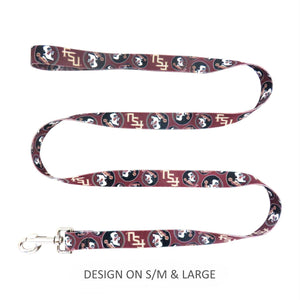 Florida State Seminoles Pet Nylon Leash - staygoldendoodle.com