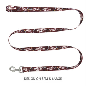 Miami Heat Pet Nylon Leash - staygoldendoodle.com