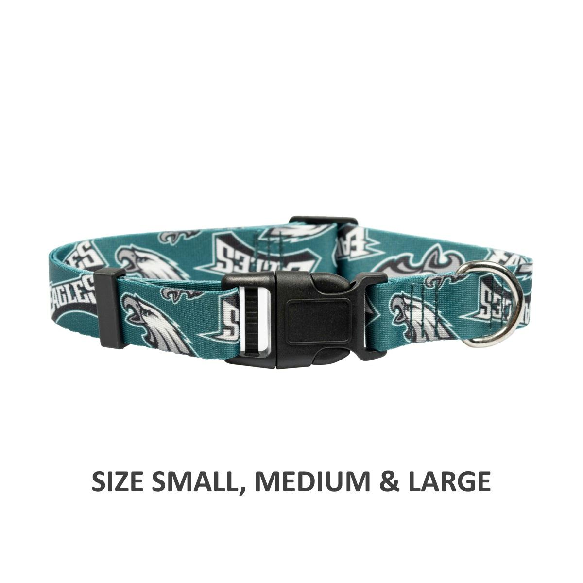 Philadelphia Eagles Pet Nylon Collar - staygoldendoodle.com