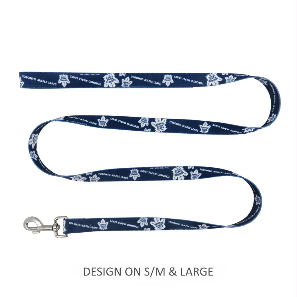 Toronto Maple Leafs Pet Nylon Leash - Large - staygoldendoodle.com