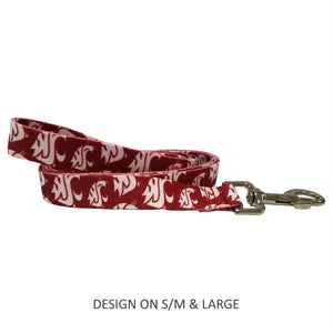Washington State Cougars Pet Nylon Leash - staygoldendoodle.com