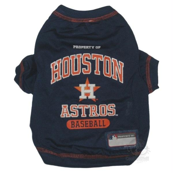 Houston Astros Pet T-shirt - staygoldendoodle.com