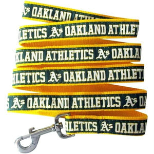 Oakland A's Pet Leash - staygoldendoodle.com