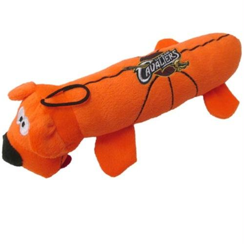 Cleveland Cavaliers Plush Tube Pet Toy - staygoldendoodle.com