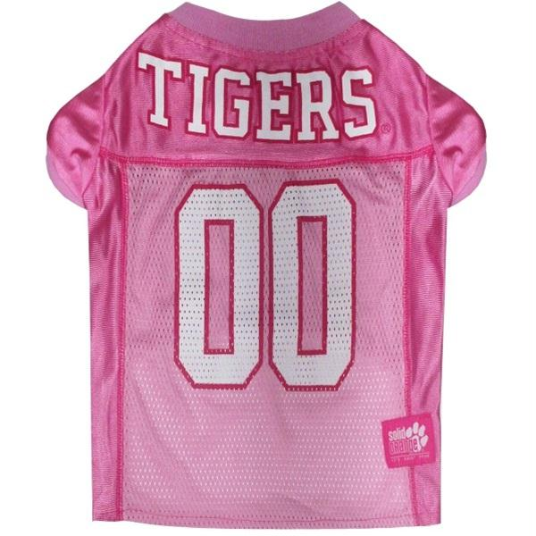 Clemson Tigers Pink Pet Jersey - staygoldendoodle.com
