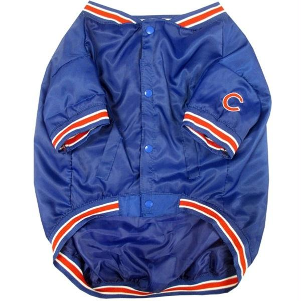 Chicago Cubs Pet Dugout Jacket - staygoldendoodle.com