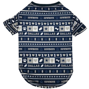 Dallas Cowboys Pet Novel-Tee - staygoldendoodle.com
