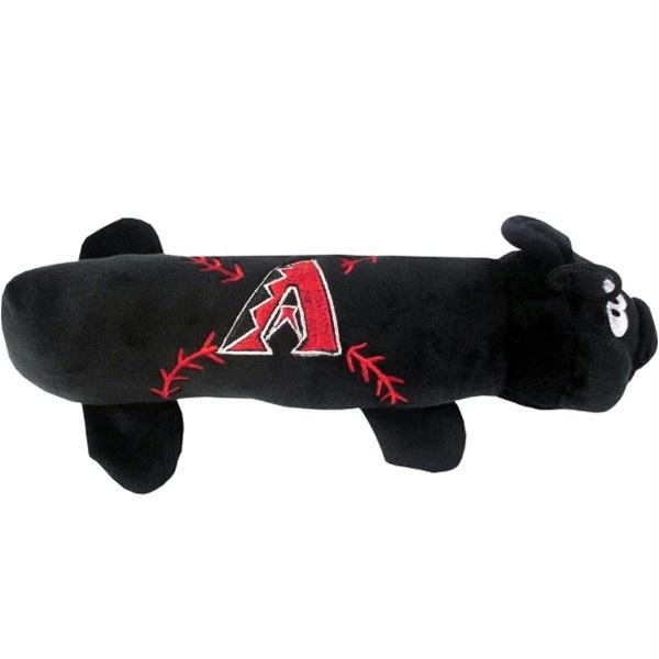 Arizona Diamondbacks Plush Tube Pet Toy - staygoldendoodle.com