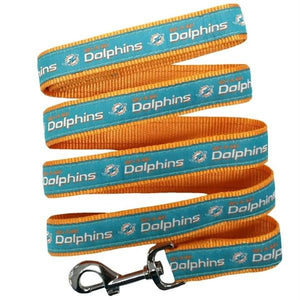Miami Dolphins Pet Leash - staygoldendoodle.com