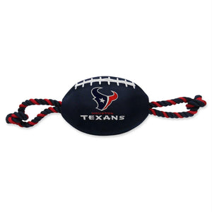 Houston Texans Pet Nylon Football - staygoldendoodle.com