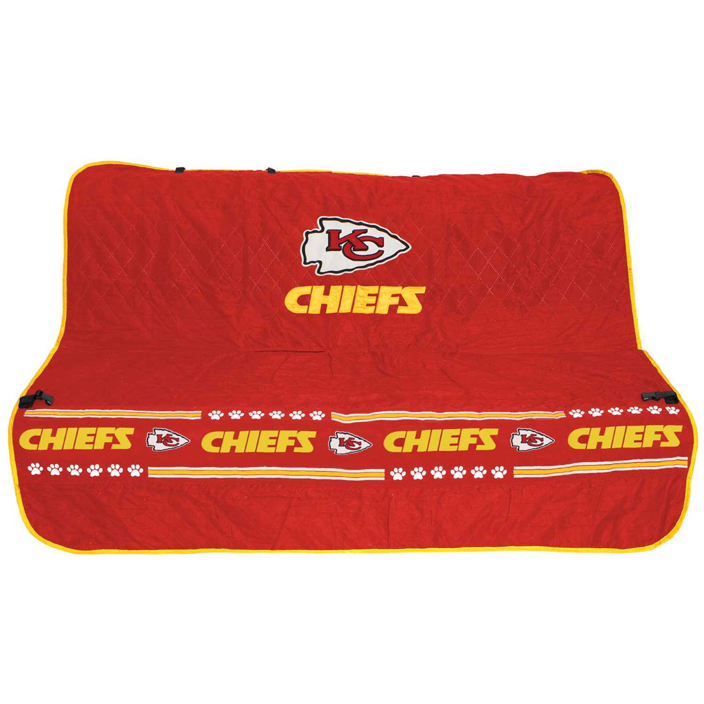 Kansas City Chiefs Pet Car Seat Cover
