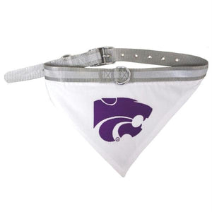 Kansas State Pet Collar Bandana - staygoldendoodle.com