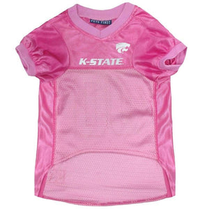 Kansas State Wildcats Pink Pet Jersey - staygoldendoodle.com