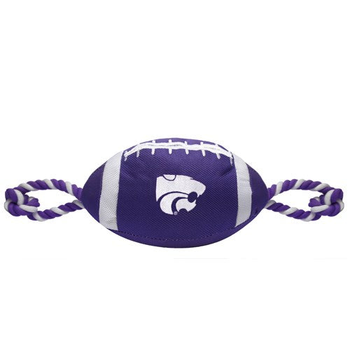 Kansas State Wildcats Pet Nylon Football - staygoldendoodle.com