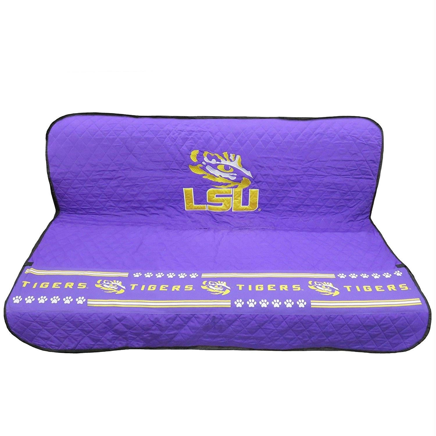 LSU Tigers Pet Car Seat Cover - staygoldendoodle.com