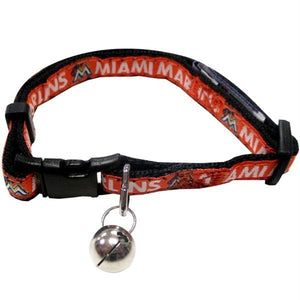 Miami Marlins Breakaway Cat Collar - staygoldendoodle.com