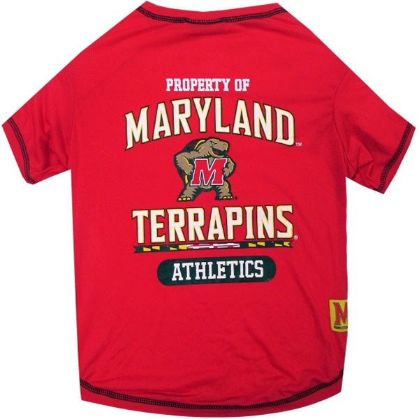 Maryland Terrapins Pet T-Shirt - staygoldendoodle.com