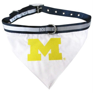 Michigan Wolverines Collar Bandana - staygoldendoodle.com