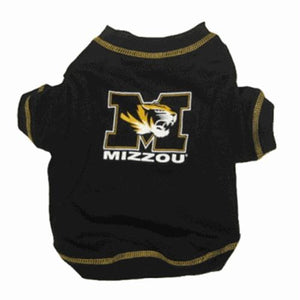 Missouri Tigers Dog Tee Shirt - staygoldendoodle.com