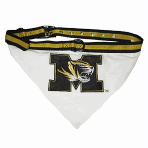 Missouri Tigers Dog Collar Bandana - staygoldendoodle.com
