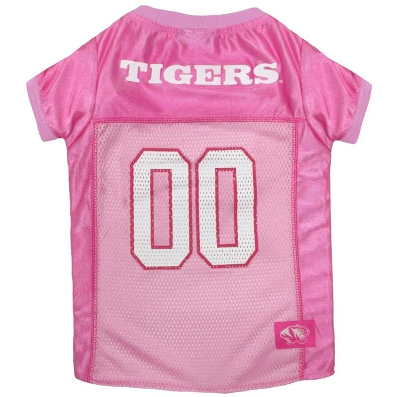 Missouri Tigers Pink Pet Jersey - staygoldendoodle.com