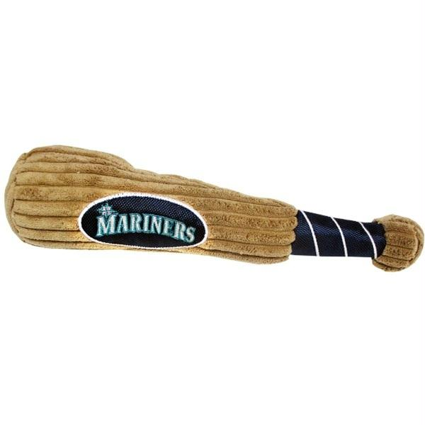 Seattle Mariners Plush Baseball Bat Toy - staygoldendoodle.com