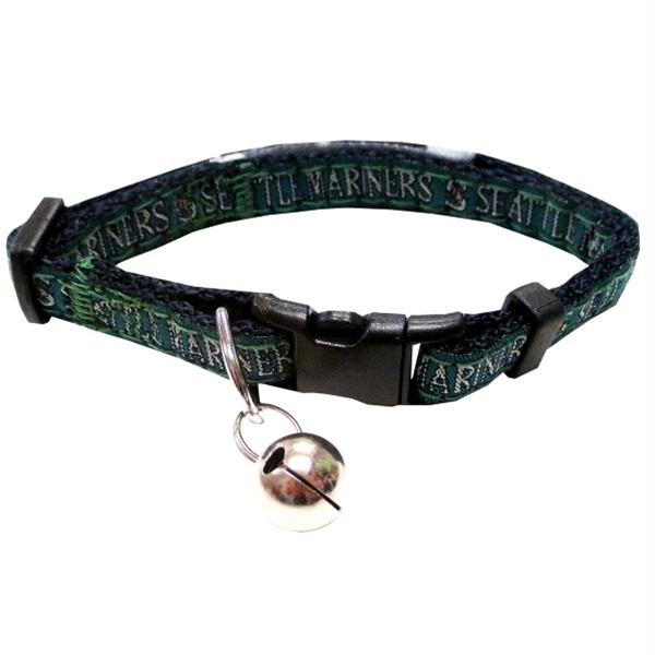 Seattle Mariners Breakaway Cat Collar - staygoldendoodle.com
