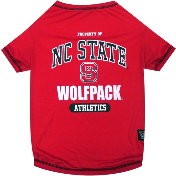 NC State Wolfpack Pet T-Shirt - staygoldendoodle.com