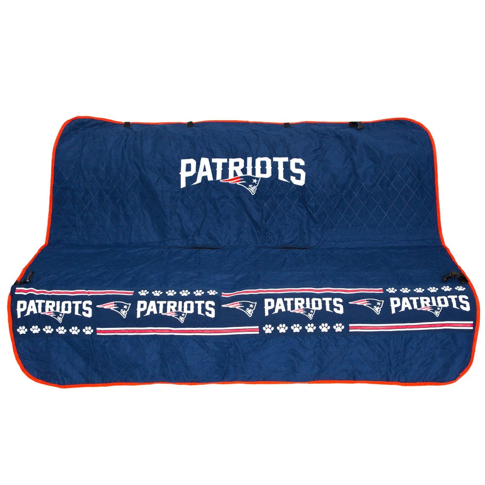 New England Patriots Pet Car Seat Cover - staygoldendoodle.com