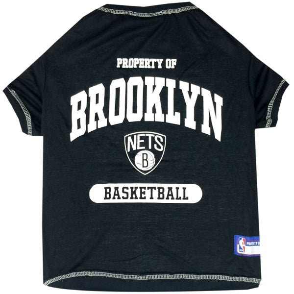 Brooklyn Nets Pet T-Shirt - staygoldendoodle.com