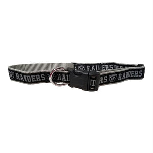 Oakland Raiders Pet Collar - staygoldendoodle.com