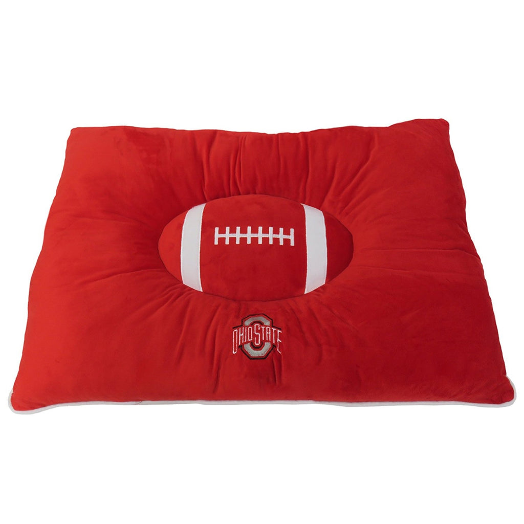 Ohio State Buckeyes Pet Pillow Bed - staygoldendoodle.com