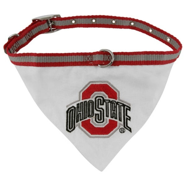 Ohio State Dog Collar Bandana - staygoldendoodle.com