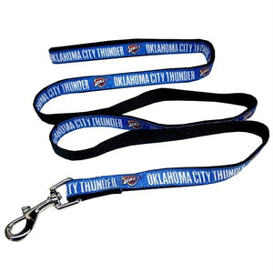 Oklahoma City Thunder Pet Leash - staygoldendoodle.com