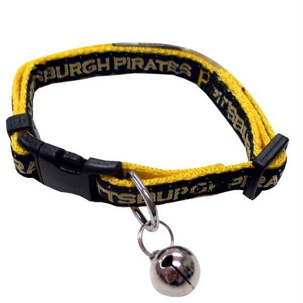 Pittsburgh Pirates Breakaway Cat Collar - staygoldendoodle.com